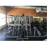 Precor MultiFunction Gym Including: Pulldown 304 (250lbs max), Longpull 302 (250lbs Max), 2
