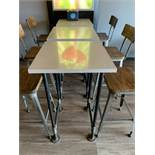 (3) Two Top Bistro Tables