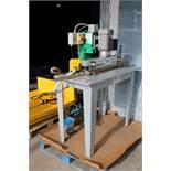Adwood Model MV23-P Single Boring Machine Press