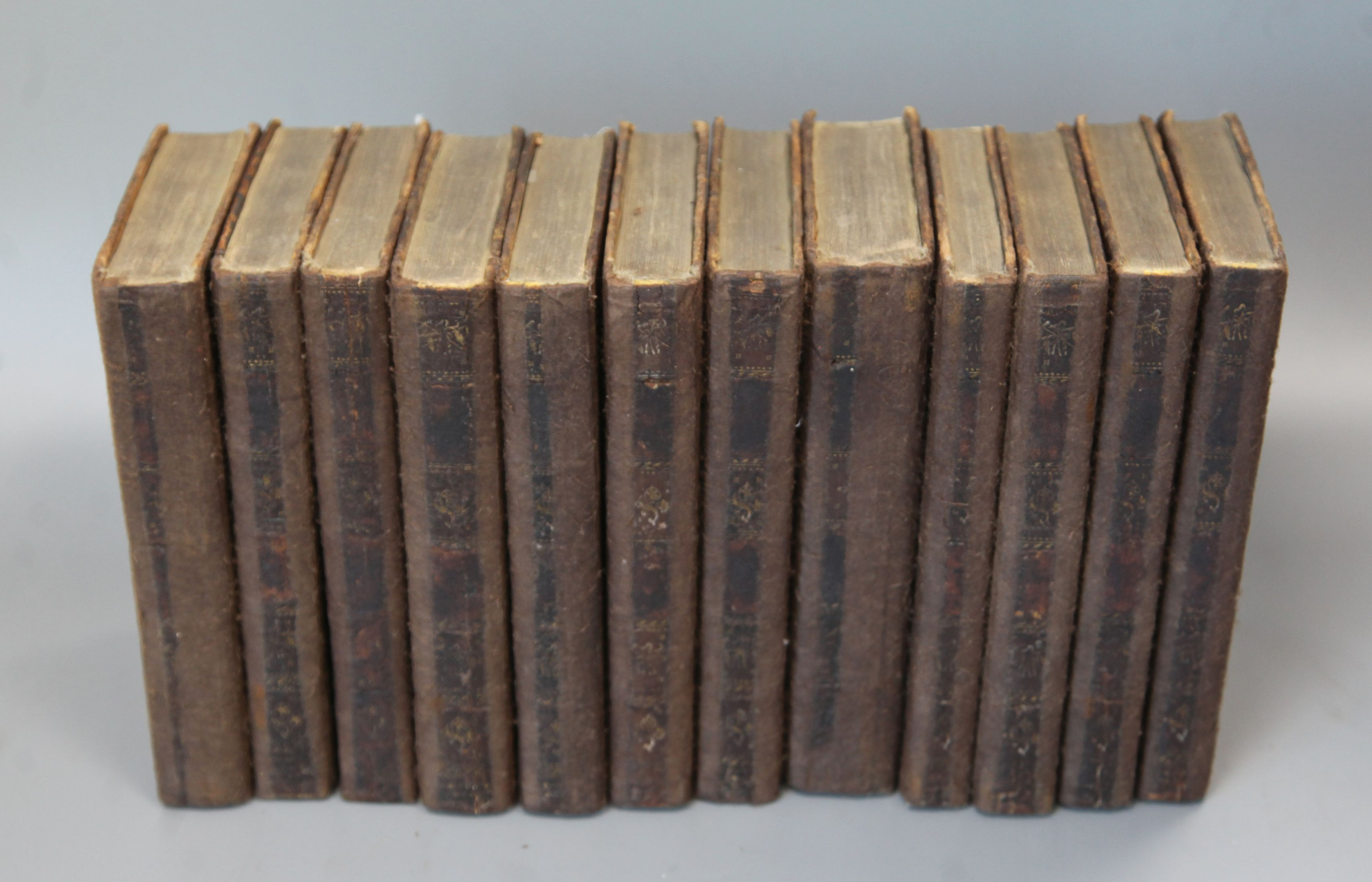Lot 26 - Swift, Jonathan - Works, 12 vols, edited by John Hawkesworth, tree calf, restored, London 1755