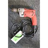 "Milwaukee 1/2"" electric drill"