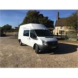 FORD TRANSIT T350 RWD 2.2l 125 BHP MESSING UNIT (2013 63 REG) - 1 KEEPER FROM NEW