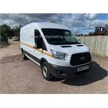 ***RESERVE MET*** FORD TRANSIT 350 L3 2.2 TDCi 125PS (2017 MODEL) 1 KEEPER FROM NEW