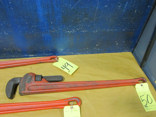 Lot 50 - PIPE WRENCH, RIDGID 36""