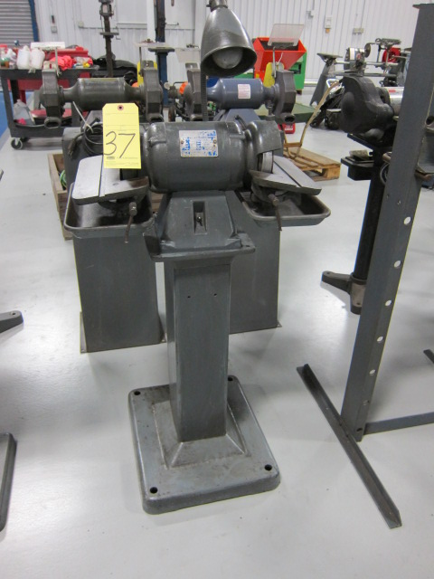 Lot 37 - CARBIDE GRINDER, BALDOR, ½ HP motor, tilting table