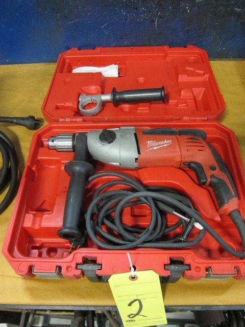 Lot 2 - ELECTRIC DRILL MOTOR, MILWAUKEE 1/2""