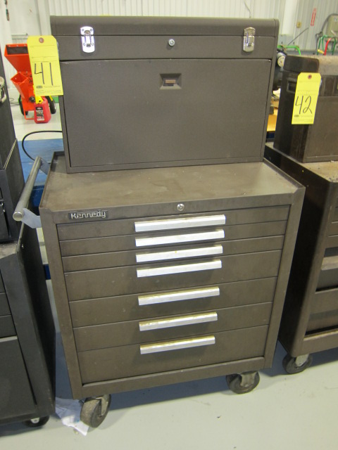 Lot 41 - PORTABLE TOOLBOX, KENNEDY