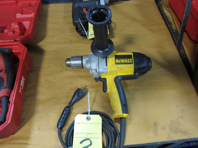 Lot 3 - ELECTRIC DRILL MOTOR, DEWALT 1/2""