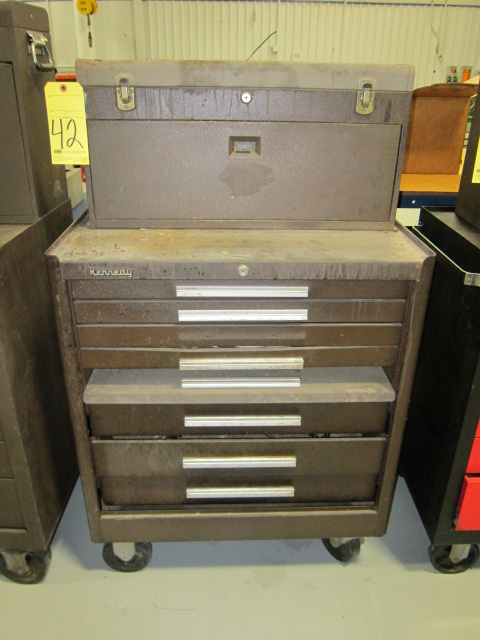 Lot 42 - PORTABLE TOOLBOX, KENNEDY