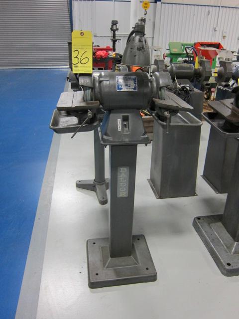 Lot 36 - CARBIDE GRINDER, BALDOR, ½ HP motor, tilting table