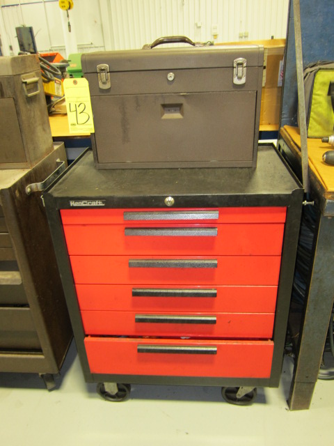 Lot 43 - PORTABLE TOOLBOX