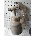 Binks Model 8 Spray Gun w/ Cup