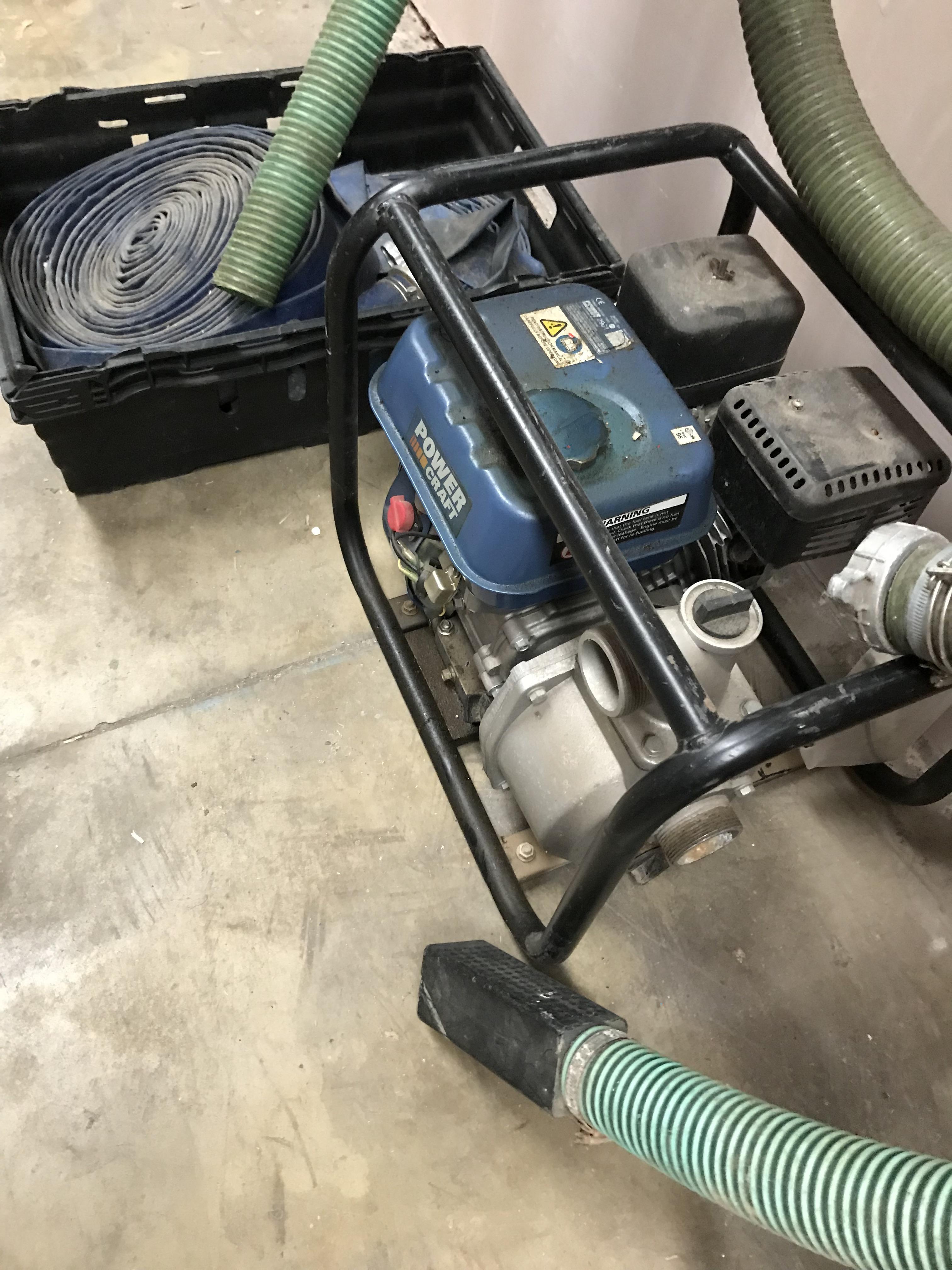 Lot 8 - Petrol Water Pump