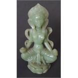Vintage Retro Buddha Buddhavista Figure
