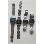 Vintage Retro Parcel of 4 Collectable Stainless Steel Watches