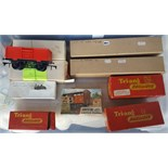 Vintage Box of Model Train Items 00 & 0 Gauge