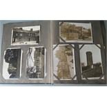 An Incredible, Antique Vintage Postcard Album Over 400 Postcards