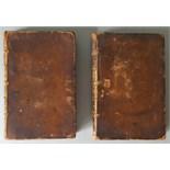 Antique Books A Trip To The Moon Vol I & Vol II Sir Humphrey Lunatic, 1765