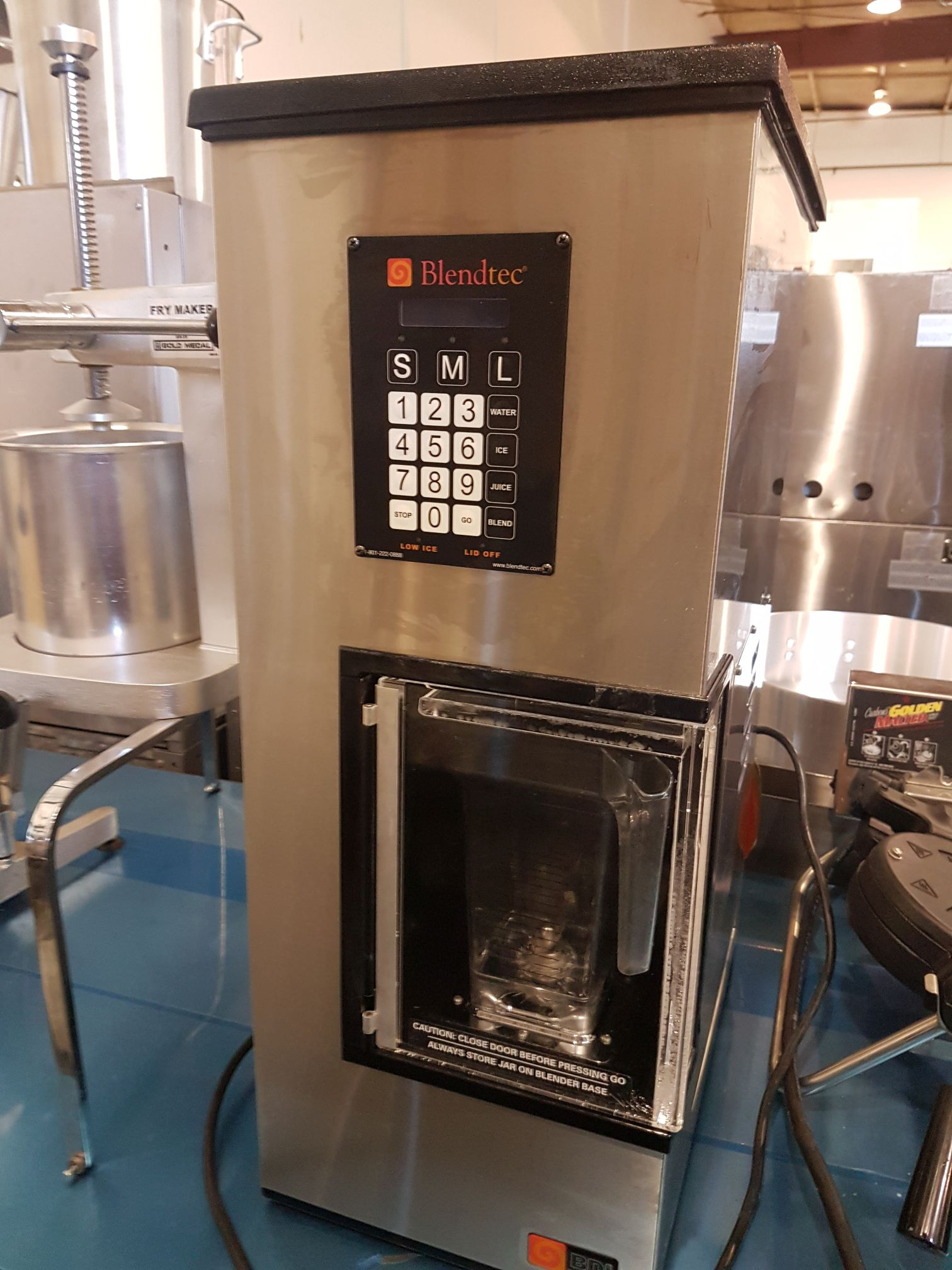Blendtec BDI Blender/Ice Dispenser model BDI-503 Narrow