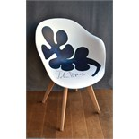 From Little Acorns, chair by John Byrne acrylic,
