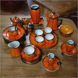 A 20th century Japanese porcelain tea service by Shofu