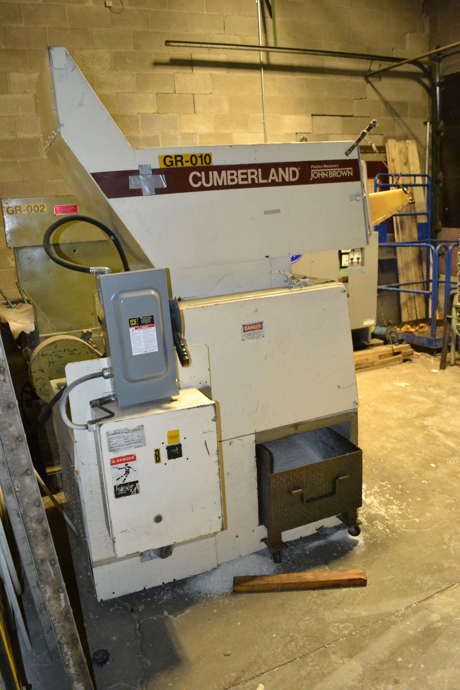 Lot 57 - Cumberland Plastic Granulator Model D-99050,
