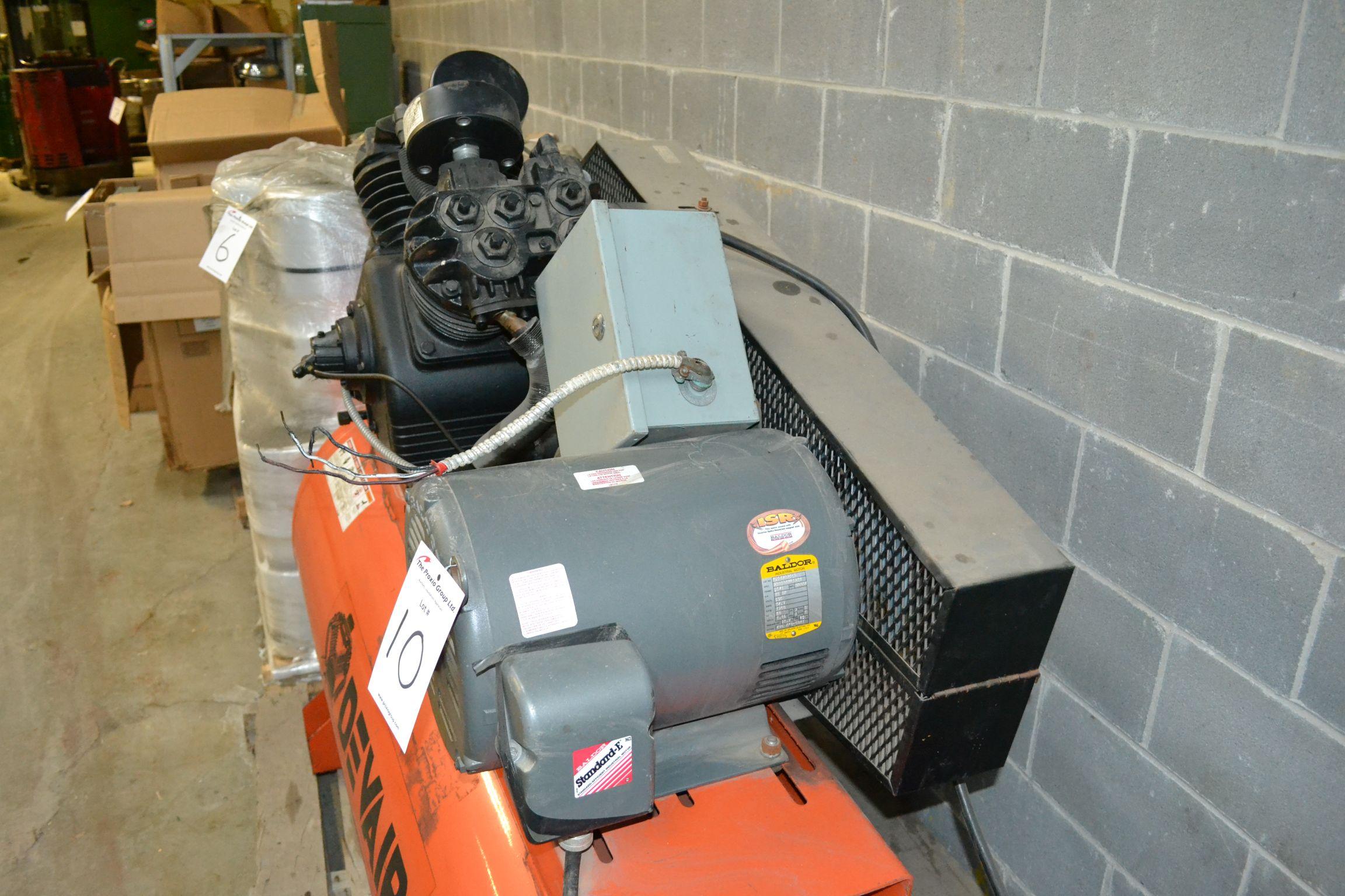 Lot 10 - Devair Air compressor, 15 HP, 575Volts, model 447