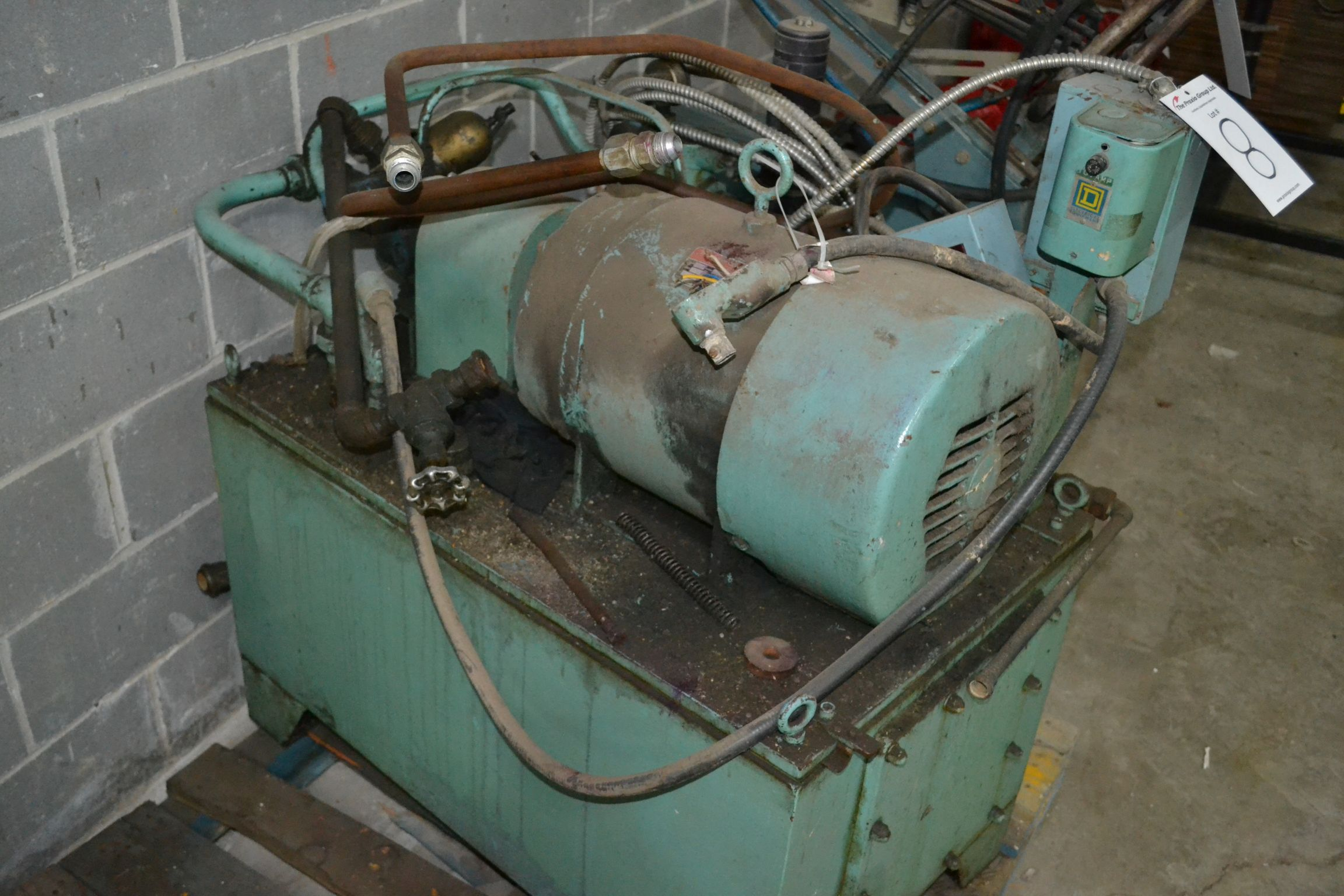 Lot 8 - Hydraulic Power Pack