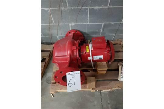 Unused Armstrong Weg Pump  UL Listed Motor 68YN Fire Pump