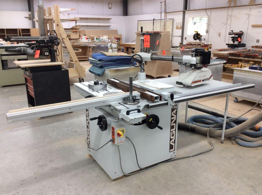 Marvelous 2006 Laguna 12 Max Diameter Sliding Arm Table Saw With Best Image Libraries Sapebelowcountryjoecom