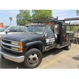 2001 Chevrolet Silverado 3500HD Welding Utility Truck Lisc# 6U26652 w/ 8.1L V8 Gas Engine, Automatic