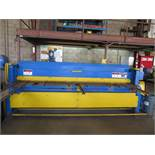Wysong mdl. 1010 10' Power Shear s/n P32-1036 w/ Dial Back gauge, 11' Squaring Arm, Front Supports