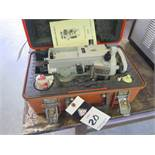 Sokkisha mdl. D6 Electronic Digital Theodolite (Transit) and Topcon DM-A5 Electronic Distance Meter