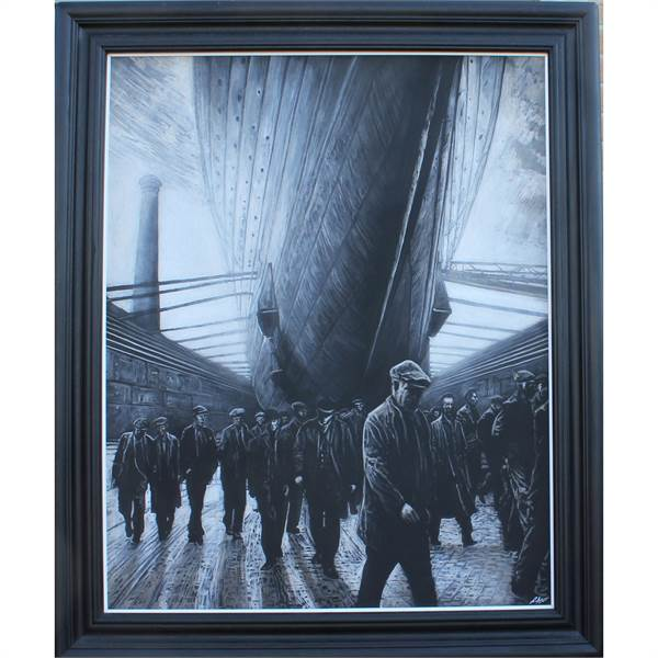 Mutter, Ryan b1978 British AR, RMS Olympic. - Image 3