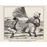 """Honoré Daumier """"Voilà un vent ..."""""""