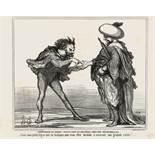 """Honoré Daumier """"L'Empereur du Maroc ...""""l"""