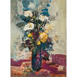 Eugen Jussel* Still life with flowers