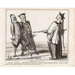 """Honoré Daumier """"La Chine se civilisant ...""""<br /"""
