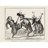 "Honoré Daumier ""Voyons, kaiserlick ...""<br /"