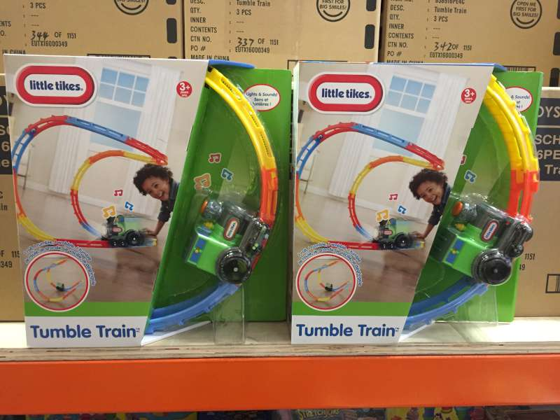 Lot 39 - 24 X BRAND NEW BOXED LITTLE TIKES TUMBLE TRAINS IN 8 BOXES