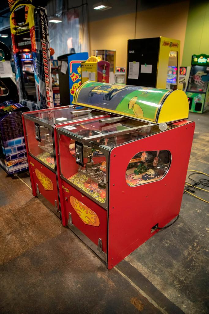 Lot 185 - Benchmark 2 player Big Rig truckin - Not Functional. Used, shows commercial use. See pictures.