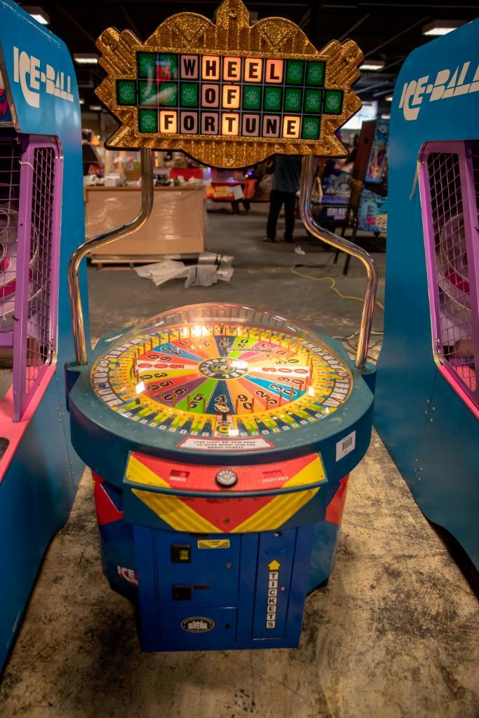 Lot 184 - Wheel of Fortune - Not Functional. Used, shows commercial use. See pictures.