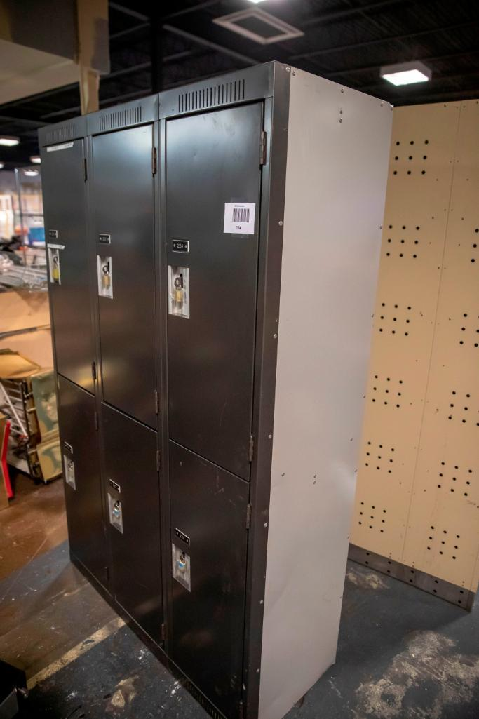 Lot 174 - Lockers. Used, shows commercial use. See pictures.