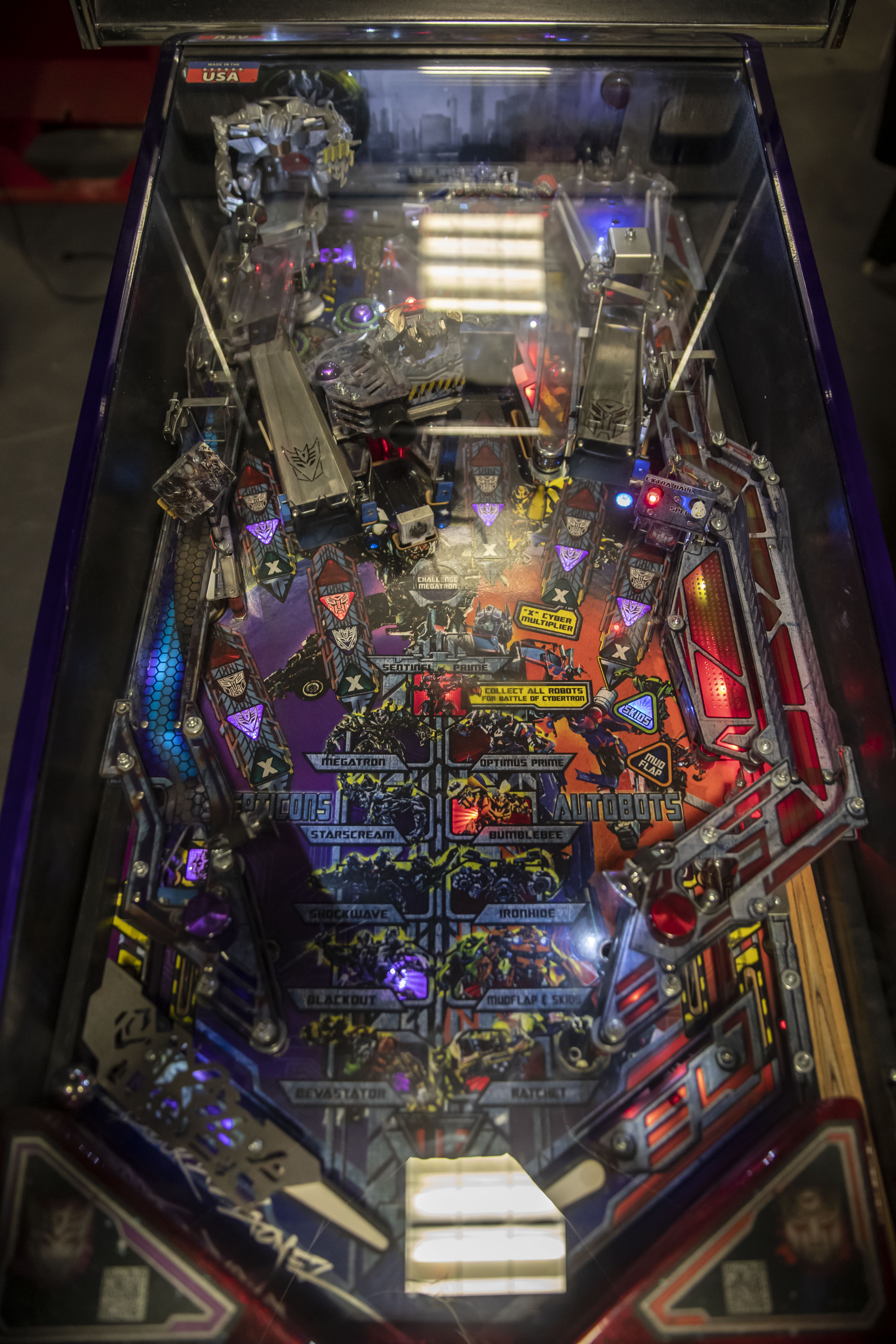 Lot 153 - Stern Transformer Limited Edition Pinball #55 - Functional but sound not working. Used.