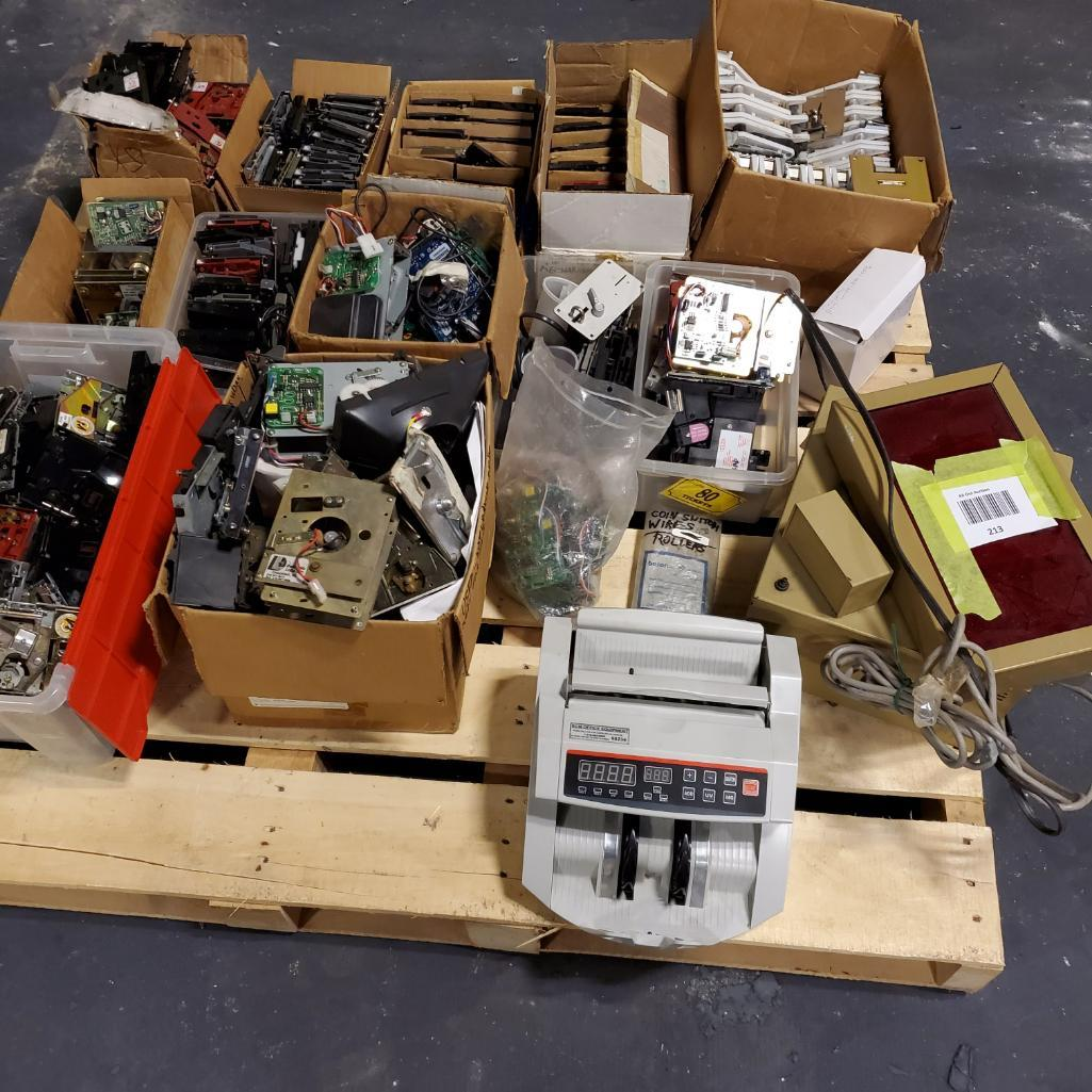 Lot 213 - Miscellaneous Mechs, Bill Counter, Parts