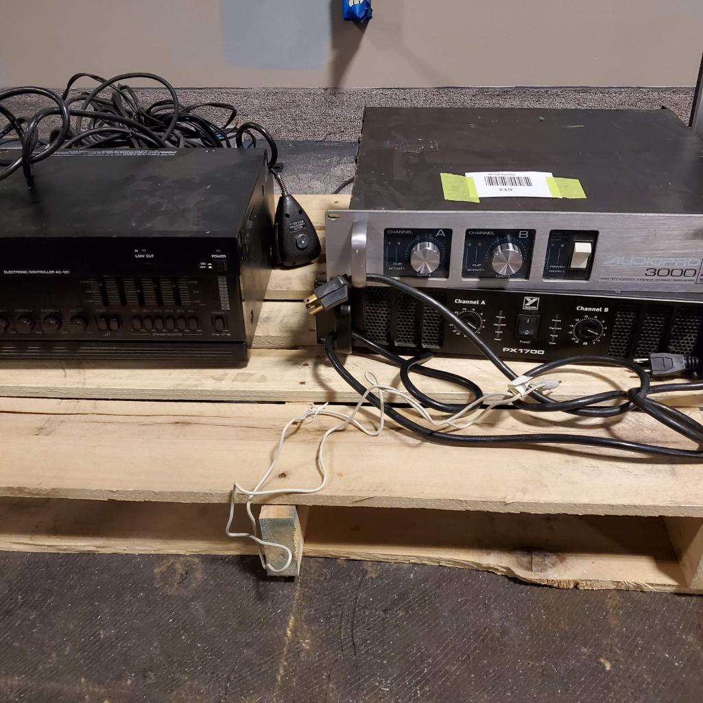 Lot 219 - Sound Equipment. Used, shows commercial use. See pictures.