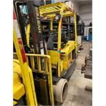 2014 Hyster 10,000 Lb Capacity Electric Forklift Model E100XN