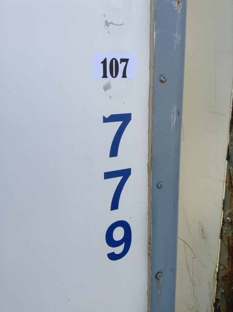 Lot 107 - Storage Container ( 8x9x10approx) includes contents of assorted moving supplies & accessories