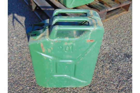 Lot 26583 - 10 x Unissued NATO Issue 20L Jerry Cans