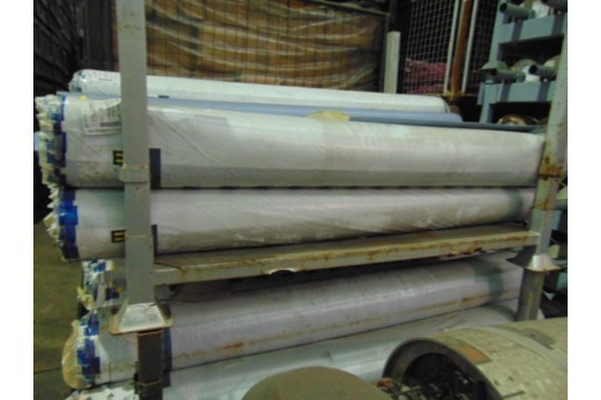 Lot 27237 - 1 x Unissued 40 Sq m roll of Altro Contrax - Light Blue PP2074 Anti Slip Safety Vinyl Flooring
